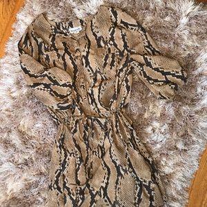 ⭐️Raynah Snakeskin Dress